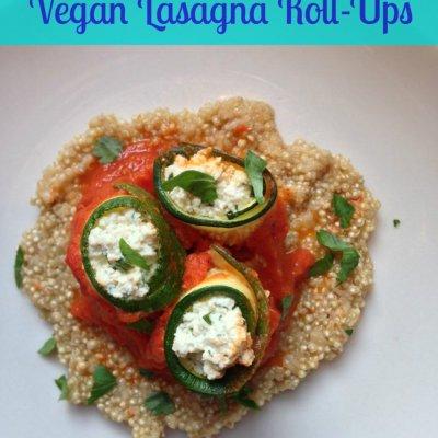 Vegan Lasagna Roll-Ups