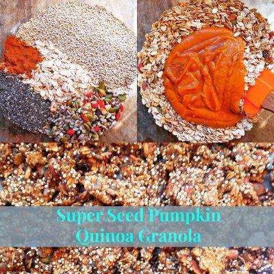 Super Seed Pumpkin Quinoa Granola