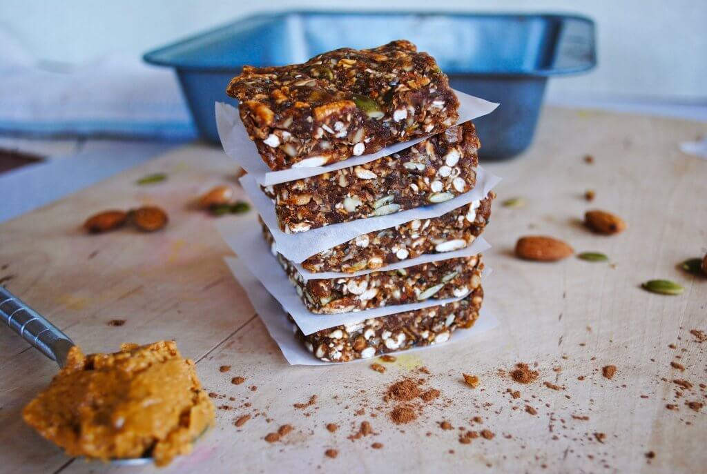 No Bake Toasted Oat Cocoa Peanut Butter Bars