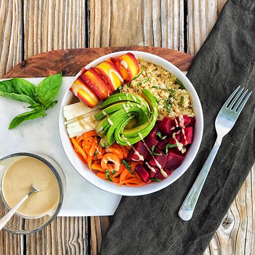 Danielle Judson RD Nutrition Coach Quinoa Bowl