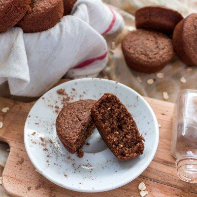 Chocolate Chai Muffins: Gluten-Free, Vegan & Delicious!