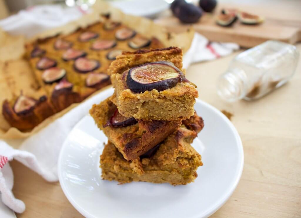 Pumpkin Fig Bars