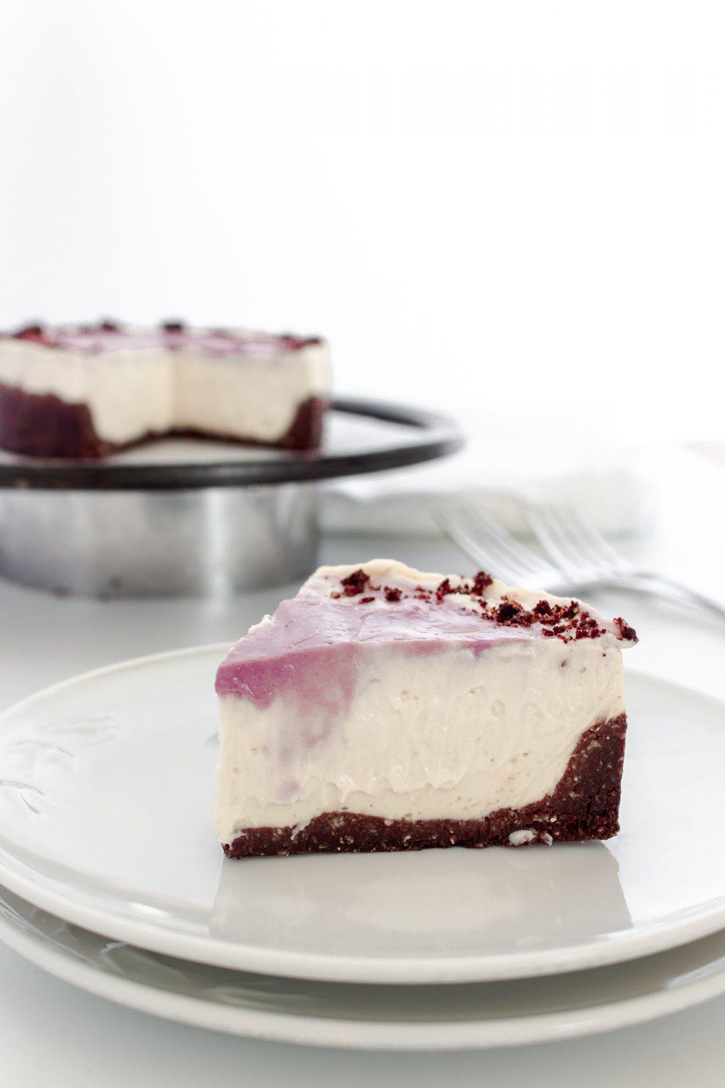 Vegan Maple Cheesecake